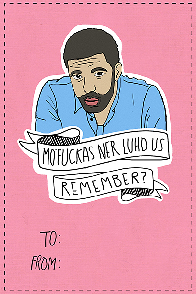 we made some music themed valentine s day cards blare