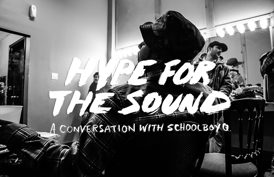 A Conversation With Schoolboy Q