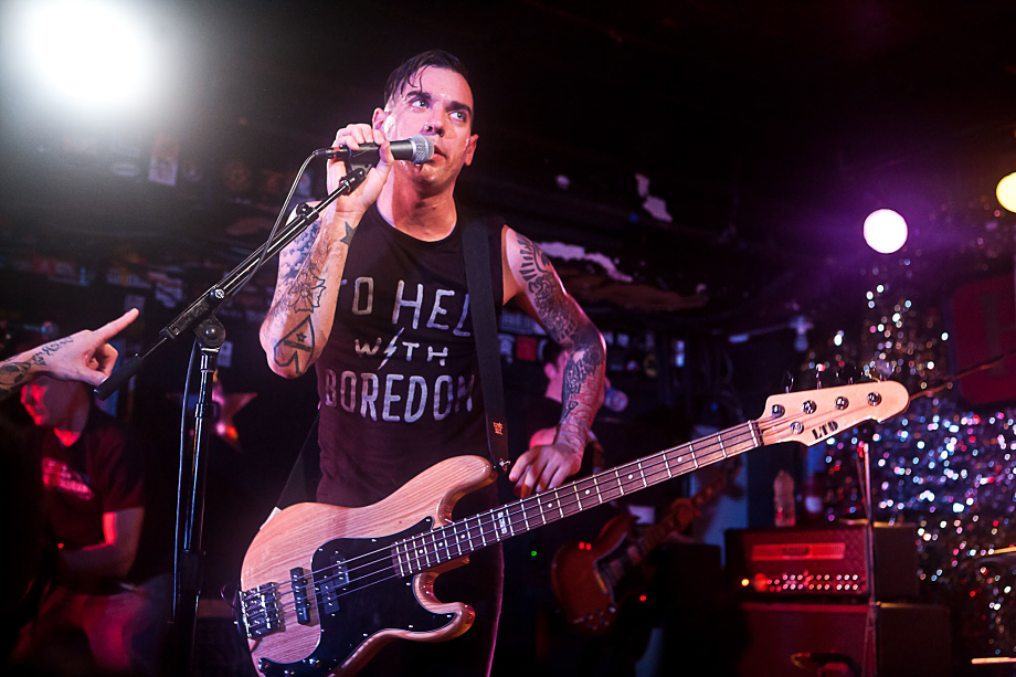 Anti-Flag - The Horseshoe Tavern