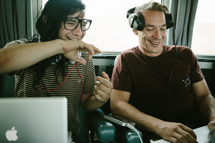 Stream Skrillex And Diplo's New Jack U Album