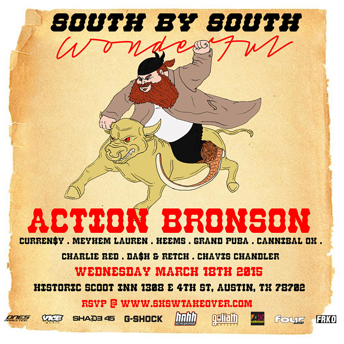 Action Bronson's South By South Wonderful