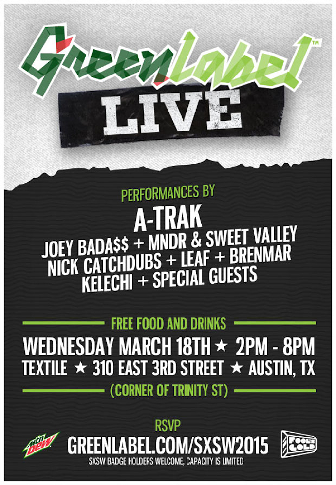 Green Label Live SXSW Day Party