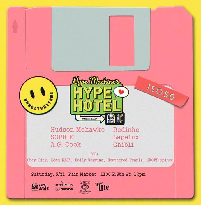 Unholy Rhythms Hype Hotel Party