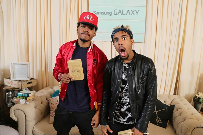 Chance The Rapper and Vic Mensa