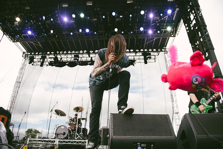 Cancer Bats - Riot Fest-6