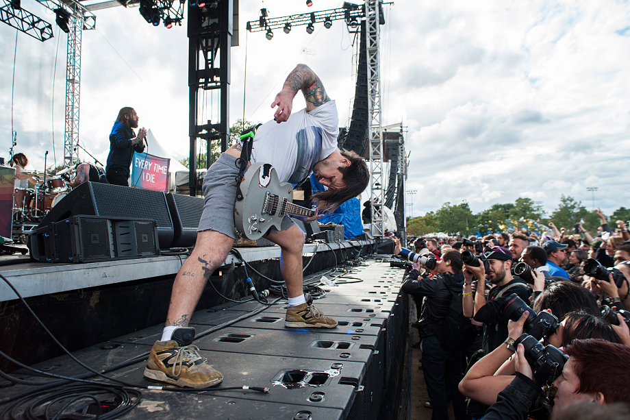 Every Time I Die - Riot Fest Chicago