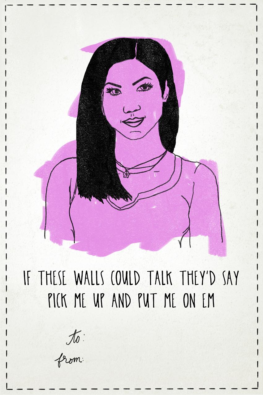 Jhene Aiko - Valentine's Day Card