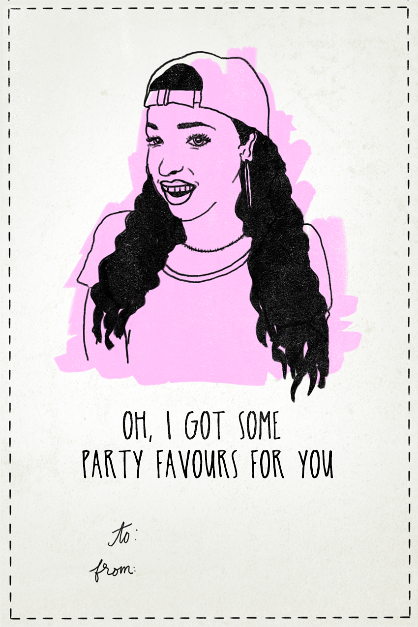 Tinashe - Valentine's Day Card