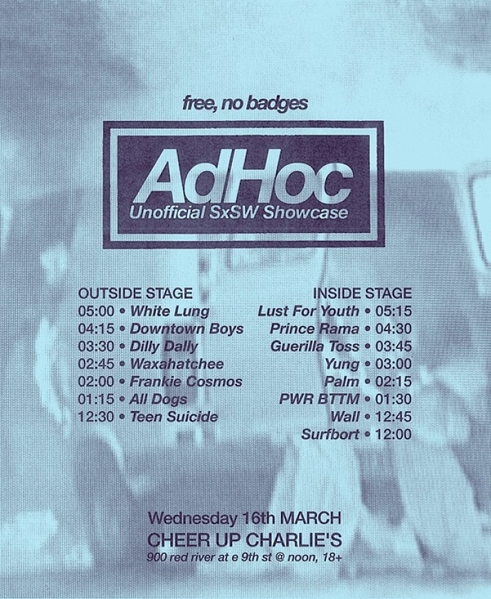 AdHoc SXSW Showcase