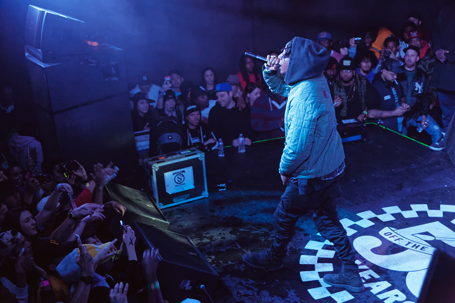 Joey Badass at House Of Vans at the Mohawk