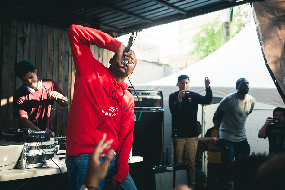 Vince Staples at Pitchfork's SXSW Day Party