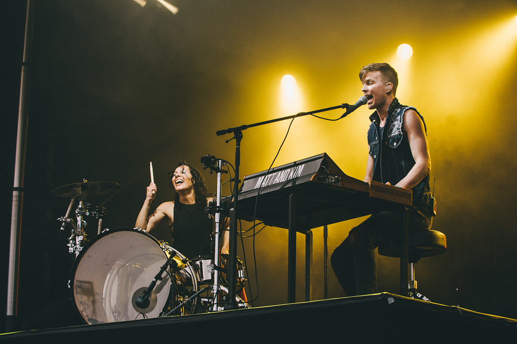 Matt And Kim at Governors Ball-1