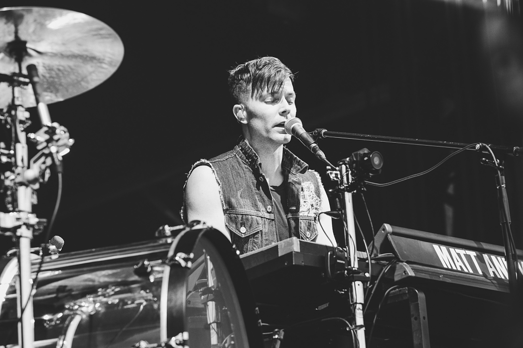 Matt And Kim at Governors Ball-3