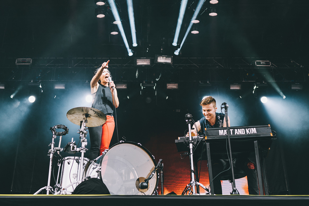 Matt And Kim at Governors Ball-5