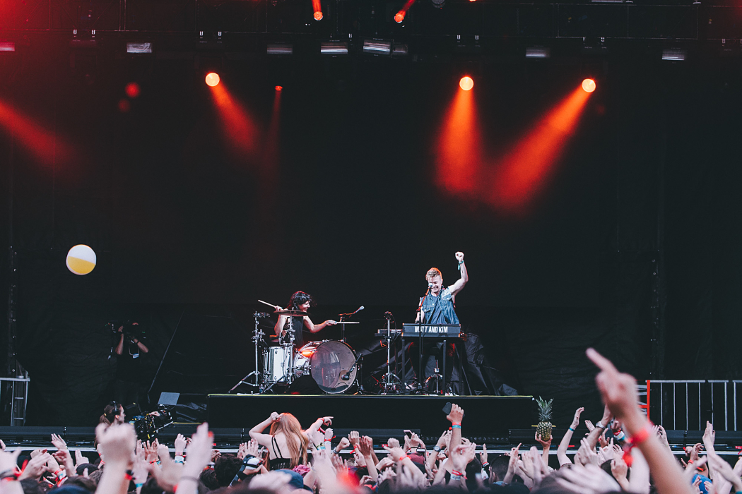 Matt And Kim at Governors Ball-7