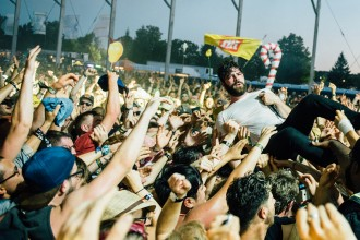 Foals at WayHome Festival 2016