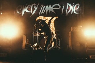 Every Time I Die at The Opera House Toronto