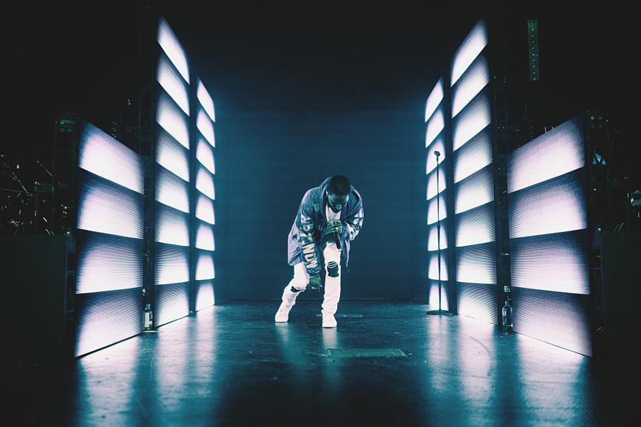 Big Sean at Rebel Nightclub