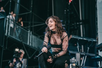Lorde at Governors Ball