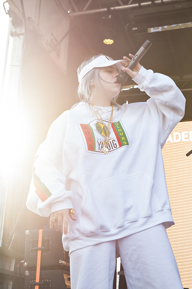 Billie Eilish - The Fader Fort-3