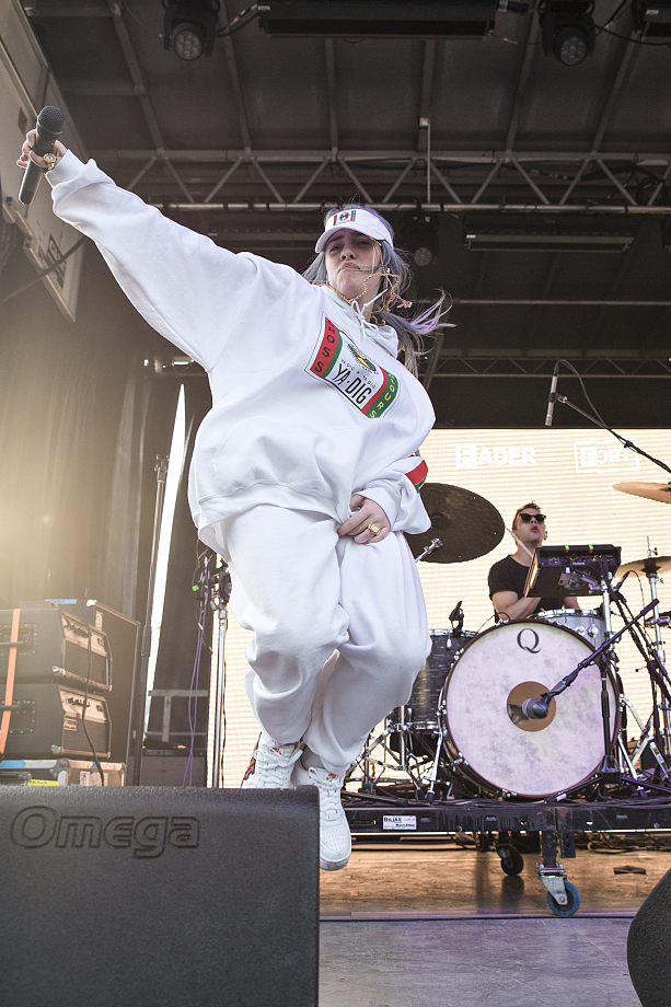 Billie Eilish - The Fader Fort-7
