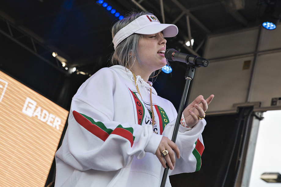 Billie Eilish - The Fader Fort-8