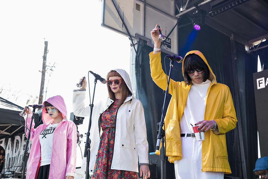 Superorganism - The Fader Fort-2
