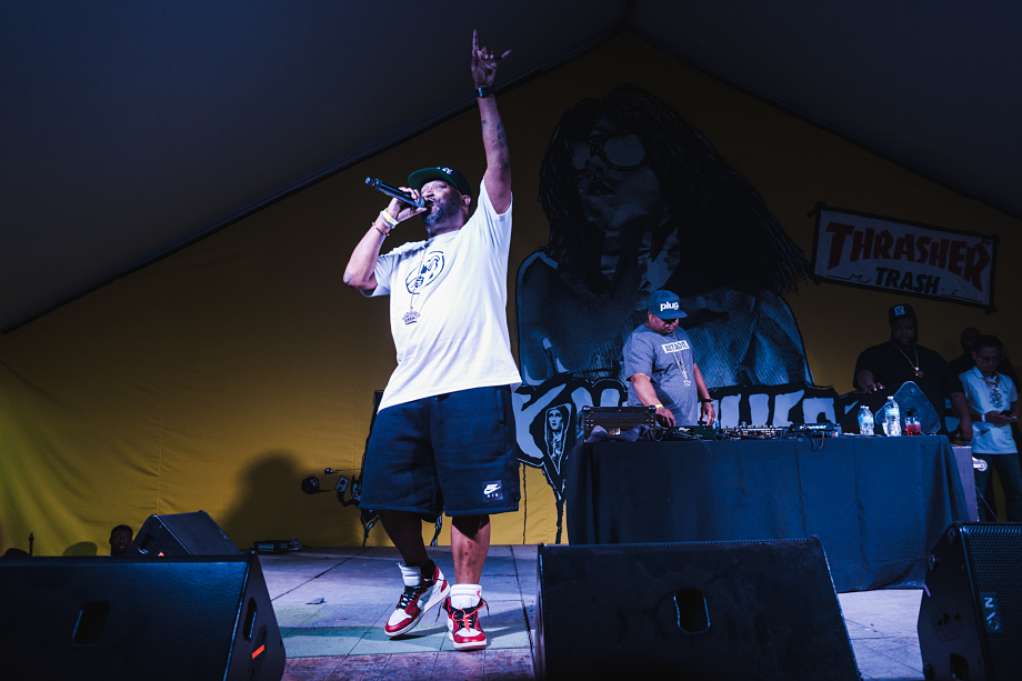Bun B at Thrasher x Vans Death Match Austin