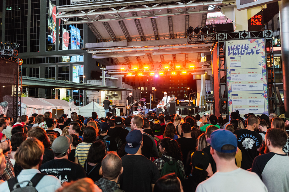The Flatliners - Yonge-Dundas Square-11