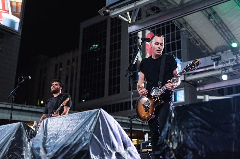 The Flatliners - Yonge-Dundas Square-13