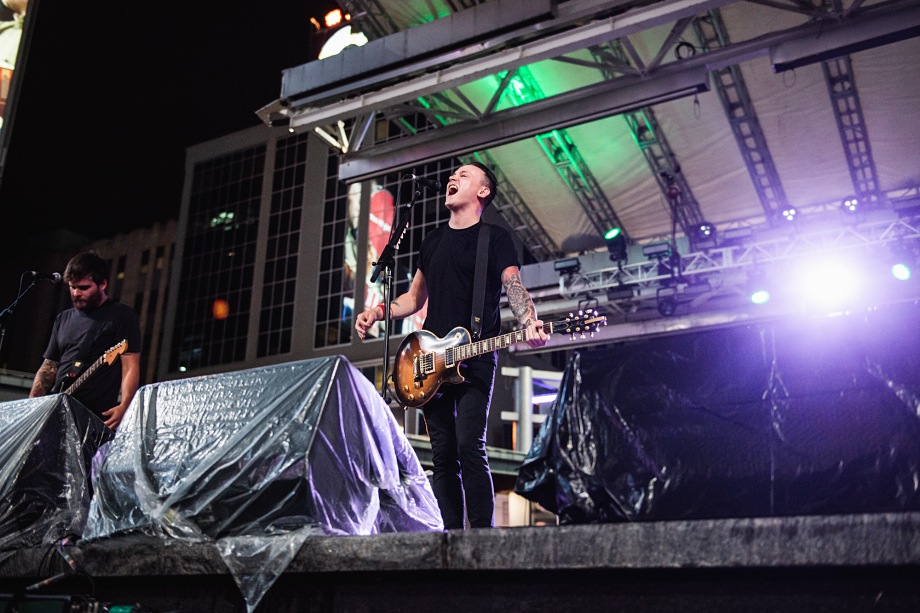 The Flatliners - Yonge-Dundas Square-14