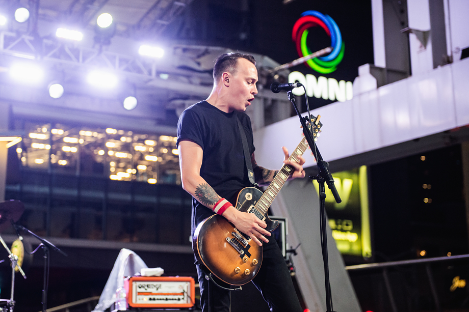 The Flatliners - Yonge-Dundas Square-18