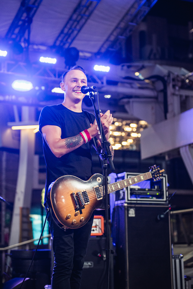 The Flatliners - Yonge-Dundas Square-6