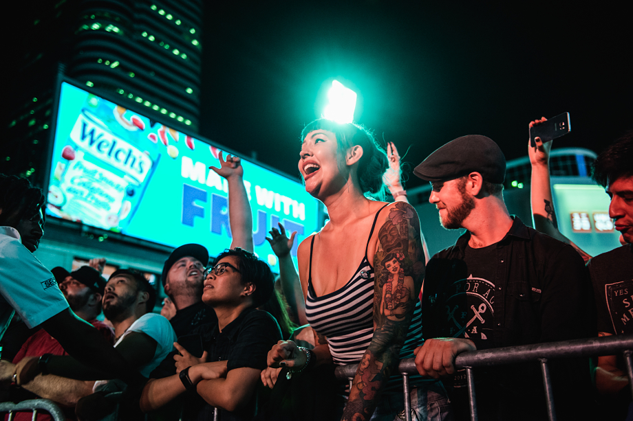 The Flatliners - Yonge-Dundas Square-7